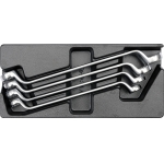 Įrankių rinkinys į vežimėlius-kilpiniai raktai 21-32 mm, 4vnt. (YT-5543)
