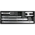 Įrankių rinkinys į vežimėlius 5vnt. (YT-55477)