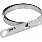 Juostinis matavimo įrankis   diametrui ir perimetrui   maks. 60 / perimetras 950 mm (YT-71700)