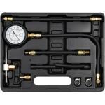 Kuro slėgio / spaudimo matuoklis | su adapteriais | variklio įpurškimo sistemoms (YT-73024)