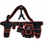 Įrankių diržas su petnešomis ir kišenėmis (YT-74071)