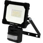Šviesos diodų lempa / prožektorius | su judesio davikliu | SMD LED 20W 1800LM (YT-81827)