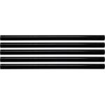 Karštų klijų lazdelių rinkinys 11,2x200mm 5vnt. juodos (YT-82433)
