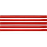 Karštų klijų lazdelių rinkinys 11,2x200mm 5vnt. raudonos (YT-82434)