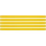 Karštų klijų lazdelių rinkinys 11,2x200mm 5vnt. geltonos (YT-82437)