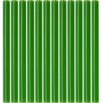 Karštų klijų lazdelės | žalios | 7,2X100 mm | 12 vnt. (YT-82444)
