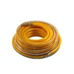 Žarna PVC su žalvarinėmis jungtimis geltona (8x13mm), 15m (PH8015)