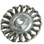 Šepetys disko tipo su sriegiu | stambus plienas | 125 x M14 (ES742125S)