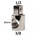 """Adapteris 3 krypčių 3/8"""" - 1/2"""" (CL203202)"""