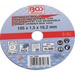 Atpjovimo diskas | Ø 105 x 1,5 x 16,2 mm (3266)
