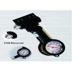 Avarinis plaktukas su saugos diržo nupjovimo funkcija ir manometru (DTG03)