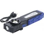 COB LED darbo lempa su magnetu ir kabliu | 4 režimai (70051)