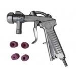 Smėliapūtės pistoletas su 4 antgaliais (M80705)