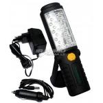 Darbo lempa LED28+5 (įkraunama)