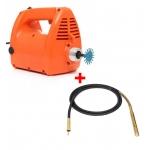 Betono vibratorius 2350W + žarna 38mm, 4m (KD10840+KD10841)