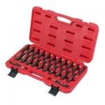 Laidų įrankių rinkinys 23vnt. aušinimo jutikliams, laidynams, gnybtų blokams (AT8178)