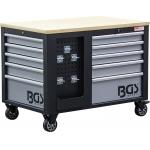 Įrankių vežimėlis  | 2x 5 stalčiai | 1 spintelė | tuščia (4199)
