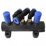 Ratų montavimo staklių complete 5-way valve [t-union]. Atsarginė dalis (PL5WVTUNI)