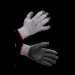 Darbo pirštinės guma dengtu delnu ir iš dalies pirštais RSG (KD614)