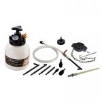 Stabdžių sistemos nuorinimo ir užpildymo įrenginys su ATF adapterių rinkiniu (CJ2373)