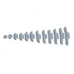 Svareliai balansavimui kalami lietiems ratlankiams (100vnt) - 5 g(YS28505)