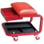 Kėdutė stačiakampė su padėklu ir stalčiumi TL20083