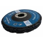 Šlifavimo diskas metalui su abrazyvine medžiaga | juodas | 125x22.2 mm (FT00055)